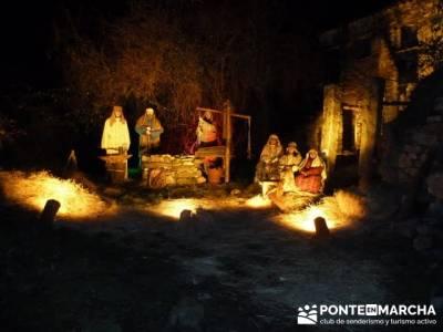 Senderismo Sierra Norte Madrid - Belén Viviente de Buitrago; rutas senderismo cantabria